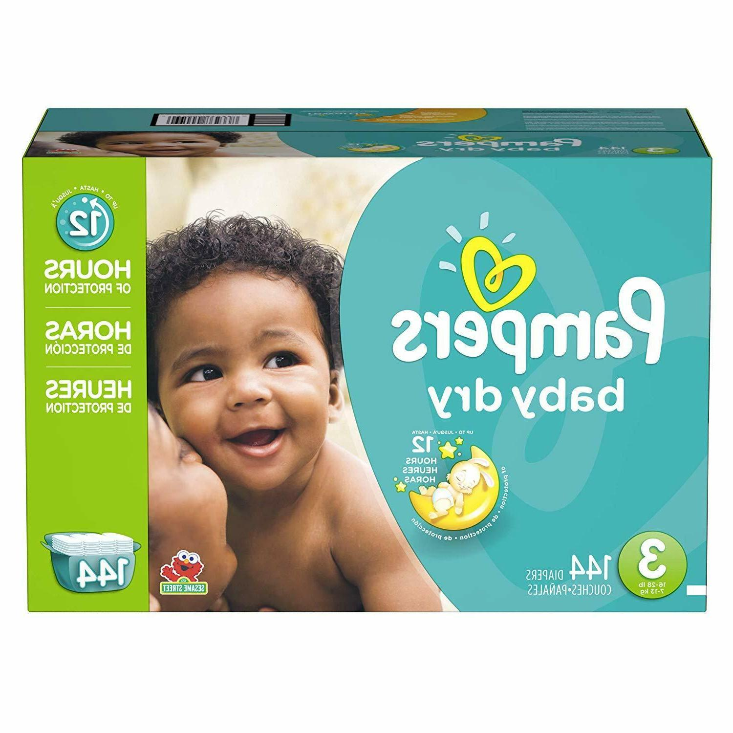 Diapers 6, 96 Count Dry Disposable Baby Giant