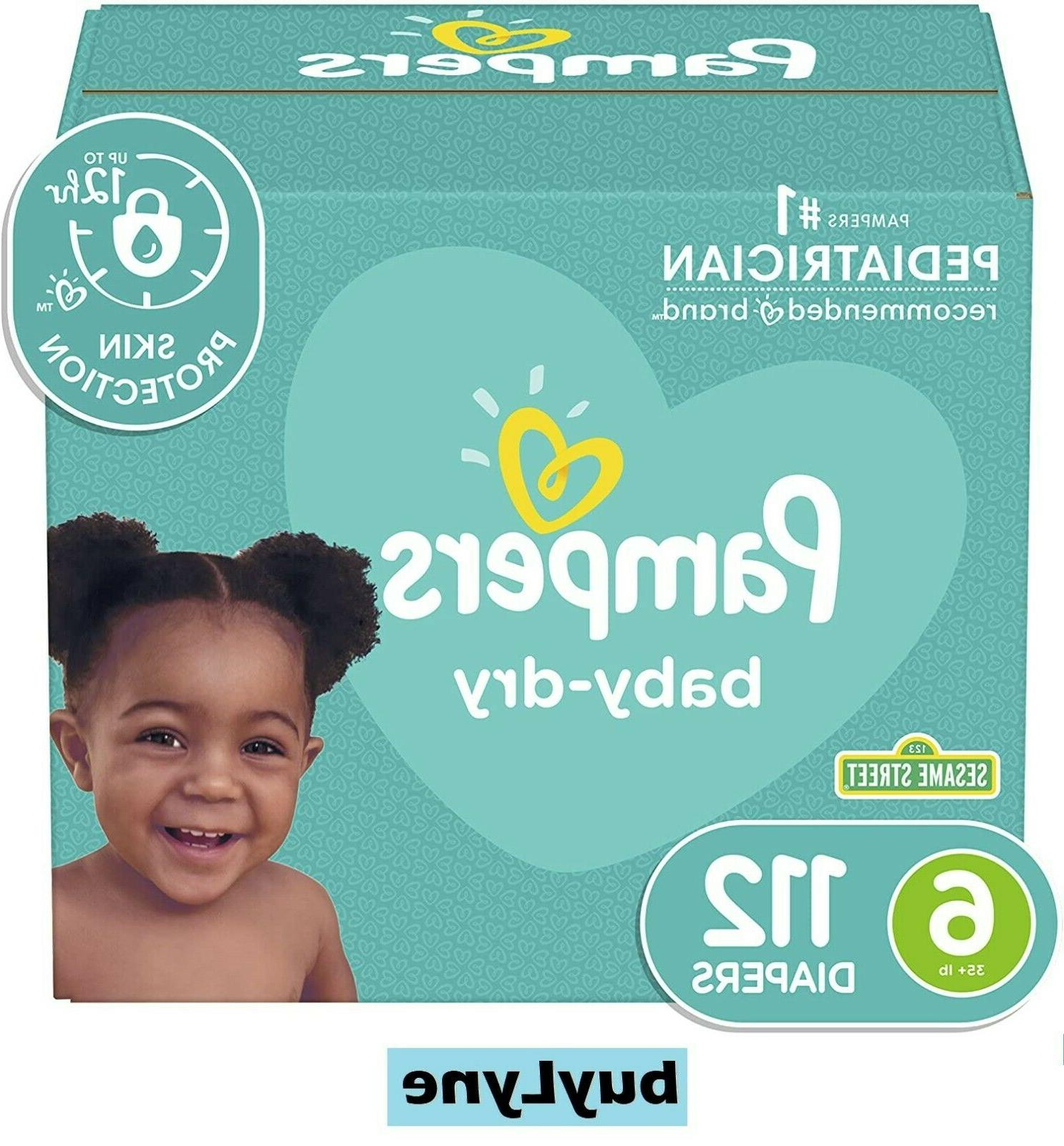 diapers size 6 baby dry soft diaper