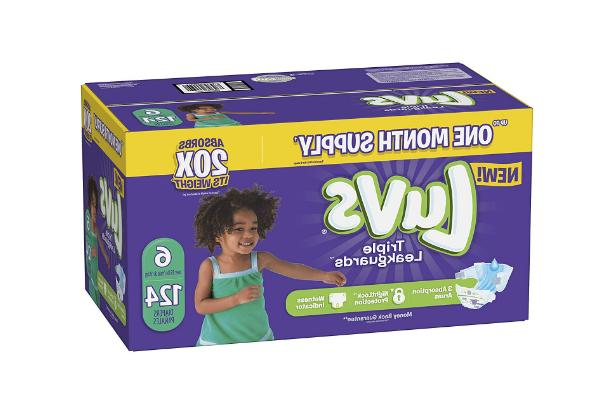 diapers size 6 luvs ultra leakguards disposable