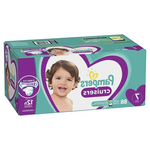 diapers size 7 88 count cruisers disposable