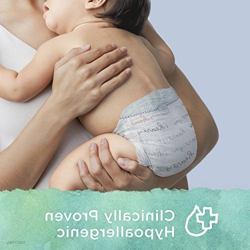 Pampers Pure Disposable Baby Diapers, Hypoallergenic Free N SUPER