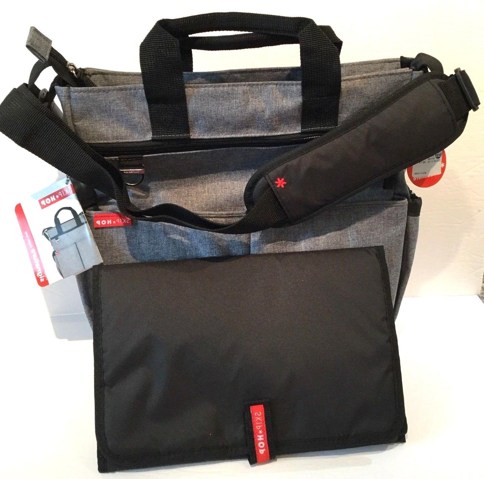 duo signature portable diaper baby bag changing