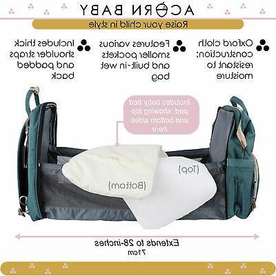 Acorn Baby Expanding Bag Diaper Combo
