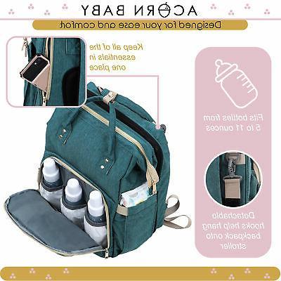 Acorn Expanding Diaper Bag Diaper Baby Combo