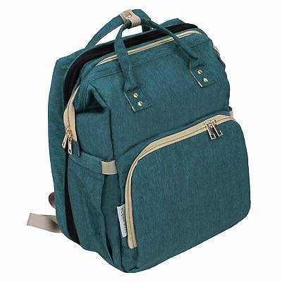 expanding diaper bag with bassinet diaper backpack