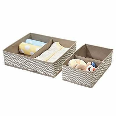 mDesign Organizer Towels, Diapers, Lotion,