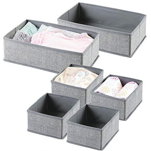 fabric nursery storage set