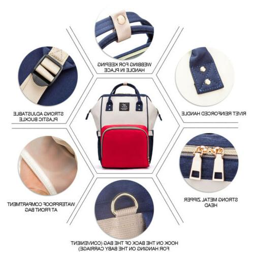 Fashion Large Diaper Bag Maternity Backpack