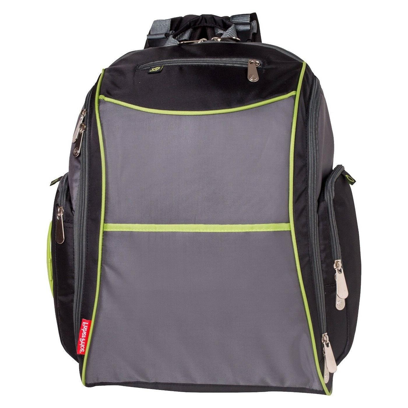 fastfinder sturdy nylon diaper backpack
