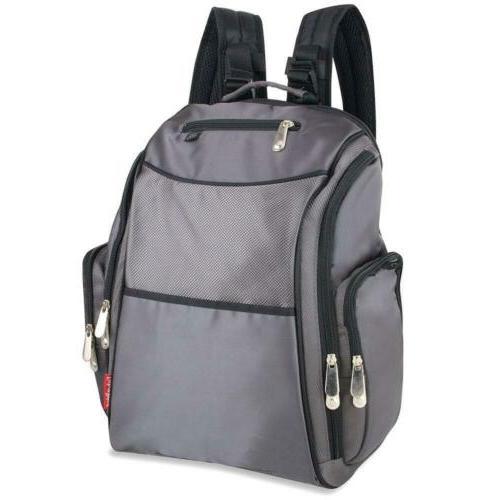 fisher price backpack diaper bag fastfinder grey