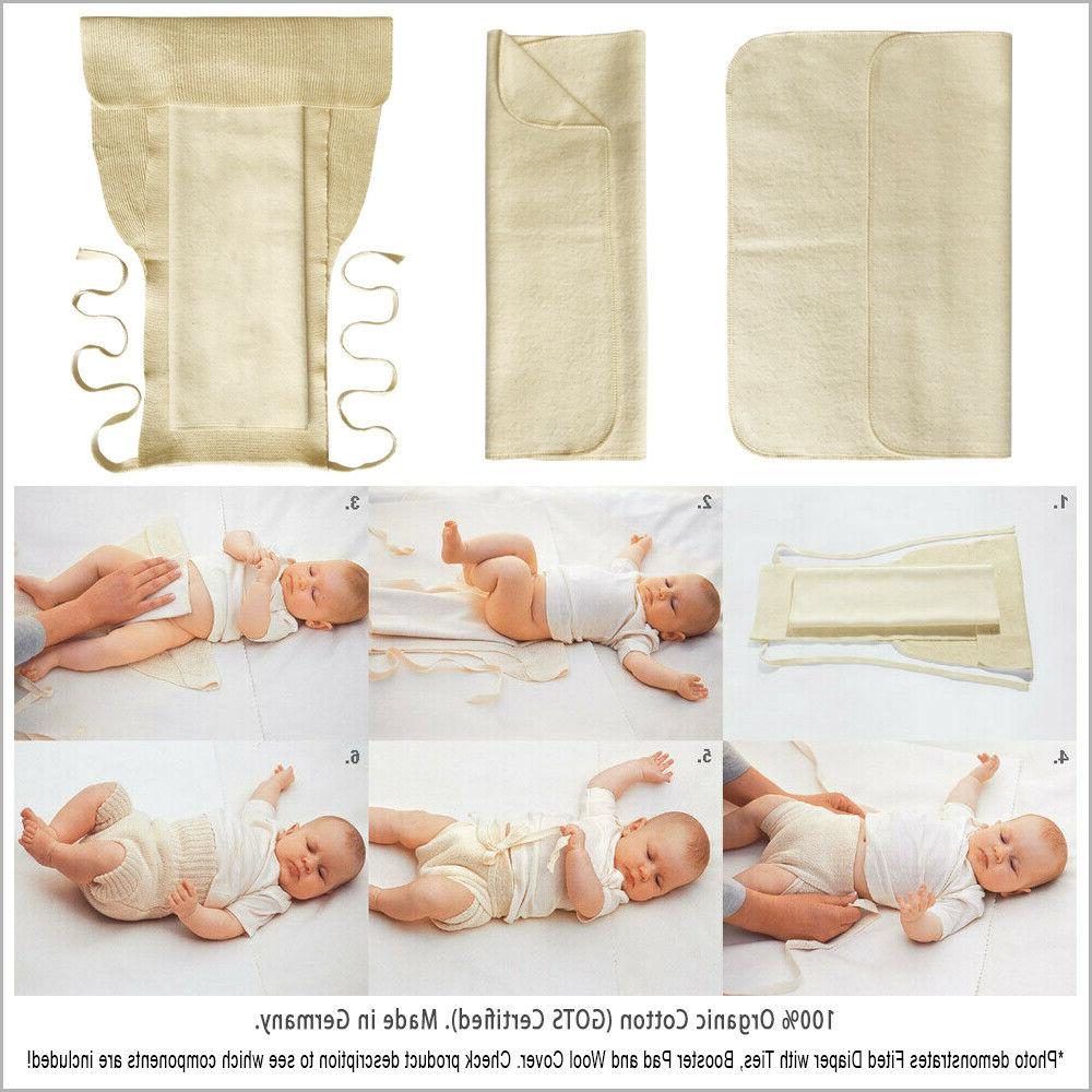 Fitted Diaper Baby Organic Cotton