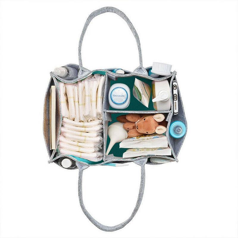 Foldable Felt Diaper Bag Baby Kids Toys Organizer Mommy Diaper