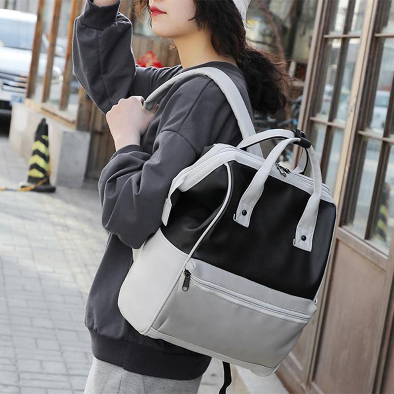<font><b>Big</b></font> Backpacks Color Waterproof <font><b>Diaper</b></font> Shoulder <font><b>Bags</b></font> Ladies Shoulder Purse Travel <font><b>Bag</b></font>
