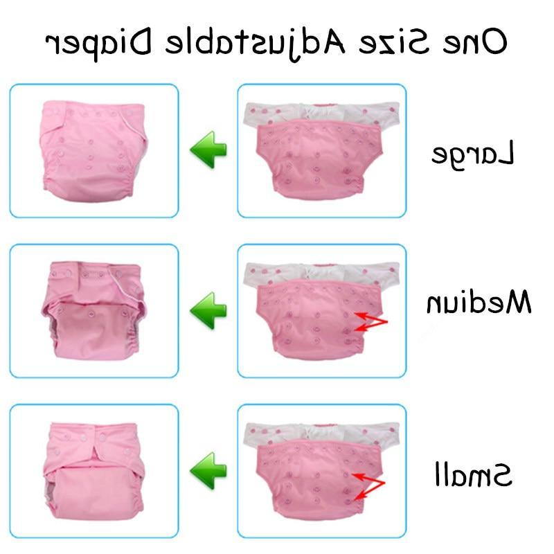 Reusable One Size <font><b>Diaper</b></font>