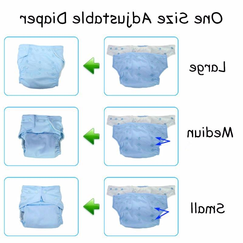 1PC Reusable digital printed <font><b>baby</b></font> <font><b>Diaper</b></font> One Size Pocket nappies for 3-15kg