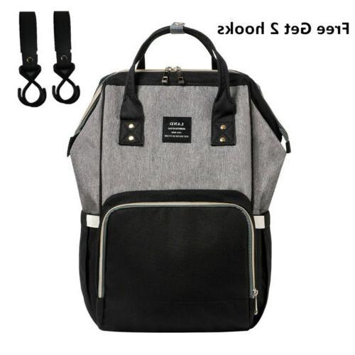 Authentic Diaper Bag w/ Hook