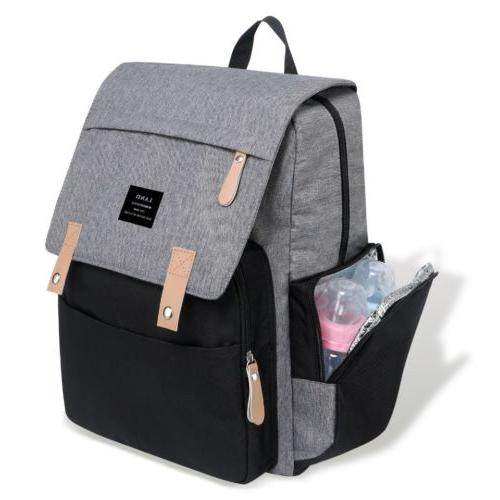 Authentic Diaper Backpack w/ Hook