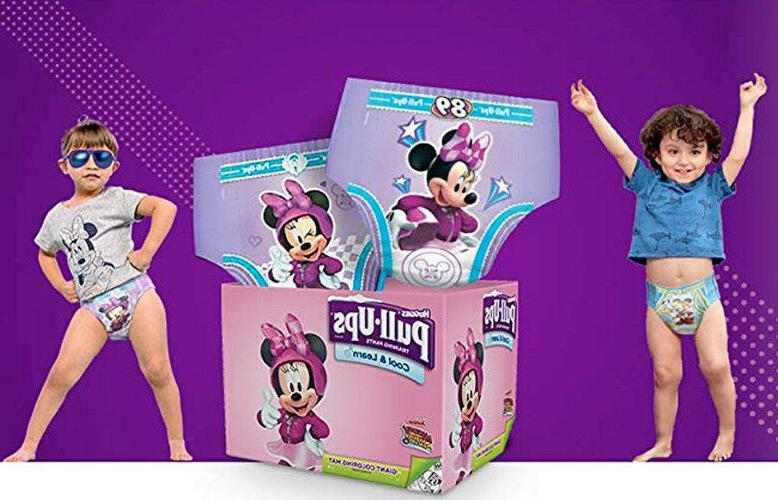 Huggies Girls Pull-Ups Cool /& Learn Baby Diapers ALL SIZES CHEAP!! NO TAX!!!