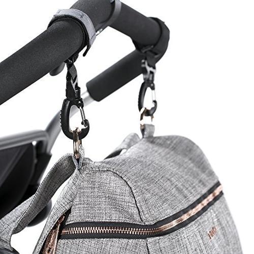 Lassig Women's Baby Diaper Bag, Anthracite