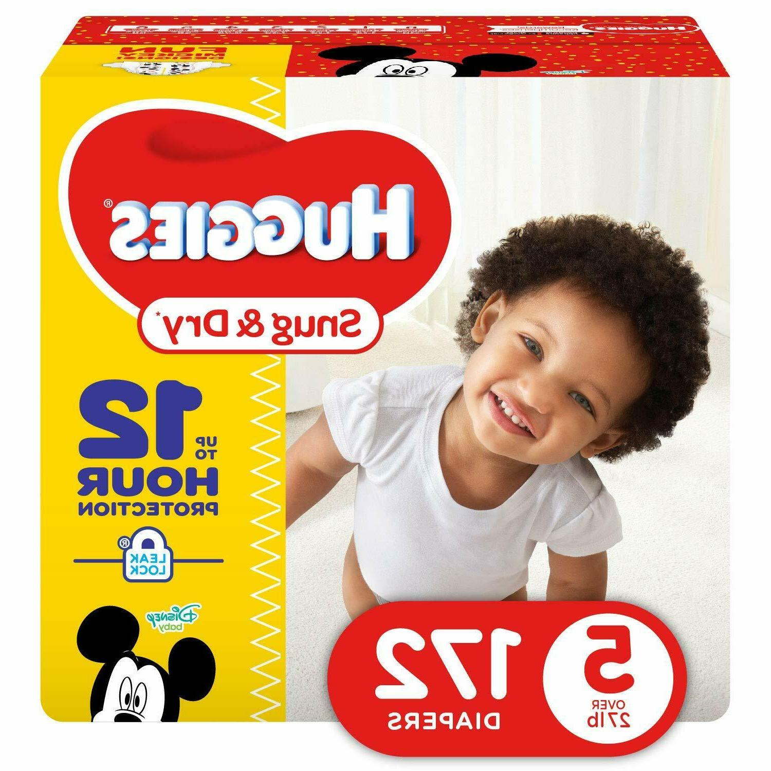 Higgies Baby Diapers 172 Count Size 5 Snug & Dry Over 27+ lb