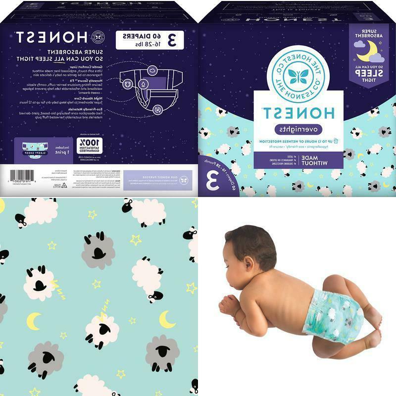 honest overnight baby diapers club box sleepy