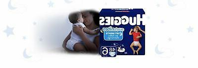 HUGGIES OverNites Diapers, Size 6, 48 Diapers Packaging May Vary