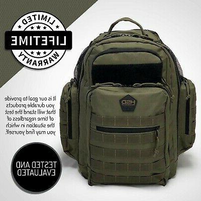 HSD Backpack, & Bottle Pockets,