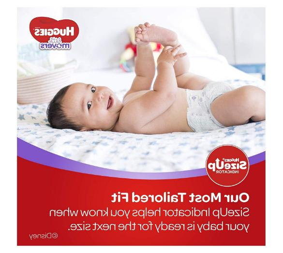 Huggies Little Size 4, 37 lb, 144 Economy Plus Pack