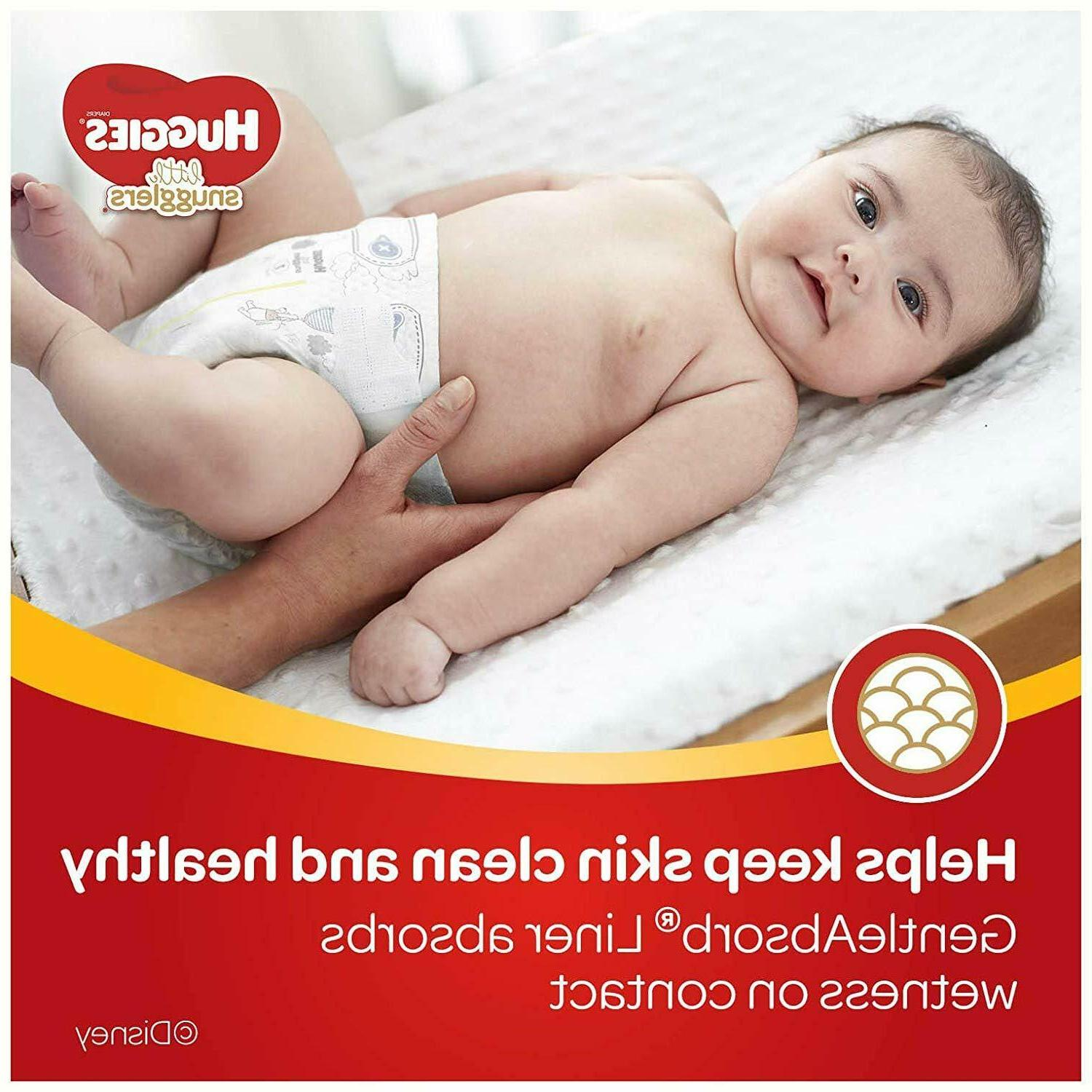 Huggies Little Snugglers Diapers, Size 1, 96 Count
