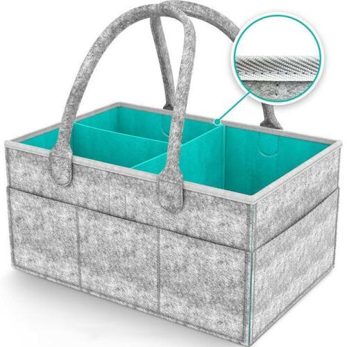 Infant Diaper Bag Caddy Storage Box US