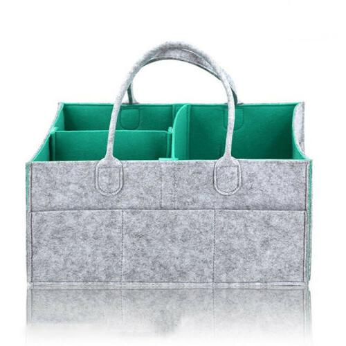 Infant Bag Caddy Box Nappy Organizer US