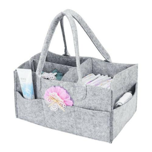 Infant Baby Nursery Storage Nappy Organizer Basket
