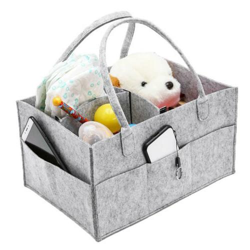 Infant Baby Nursery Nappy Basket