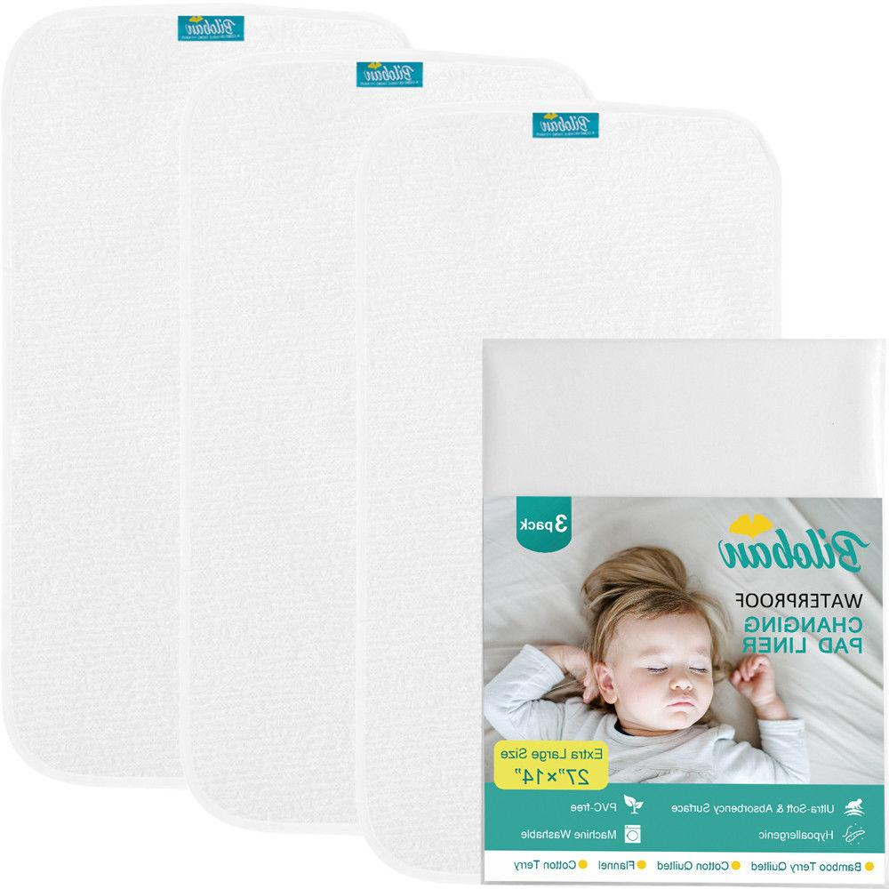 Infant Soft Cotton Cover Liner 3 Pack