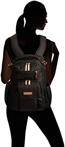 JuJuBe Be Multi-Funtional Structured Backpack/Diaper Rose