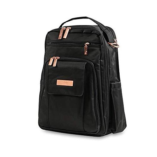 JuJuBe Be Back Multi-Funtional Structured Backpack/Diaper Rose - Knight Rose