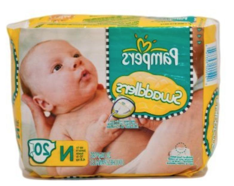 JUMBO PAMPERS Size Newborn