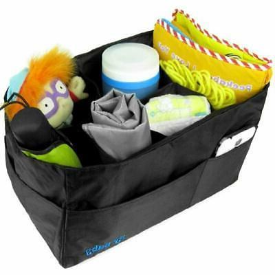 KF Insert Organizer - X 8 Black Bags