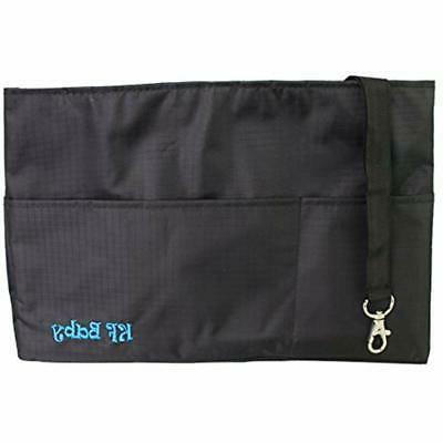 KF Diaper Bag Insert X 6.4 8 Black Tote