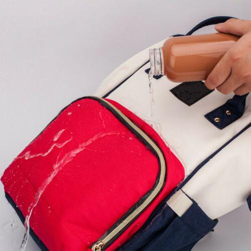 Ergo Maternity Nappy Diaper Bag Capacity Baby Travel Backpack