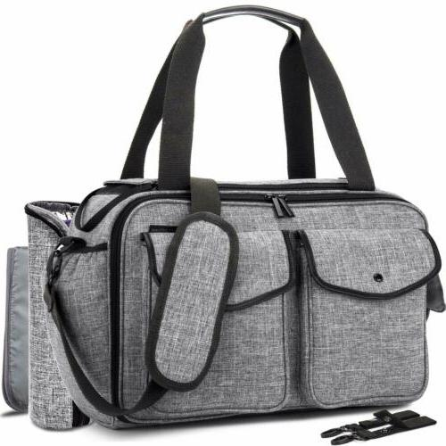 large capacity baby diaper bag mommy bag