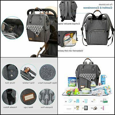 Lekebaby Backpack Grey with FREE SHIPING