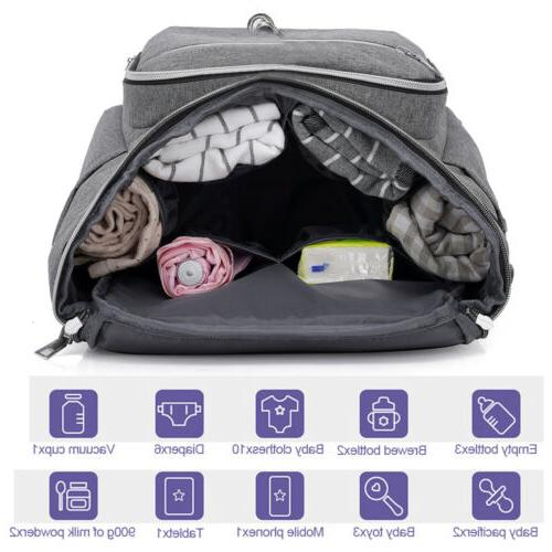 Large Diaper Baby Travel Backpack Bag