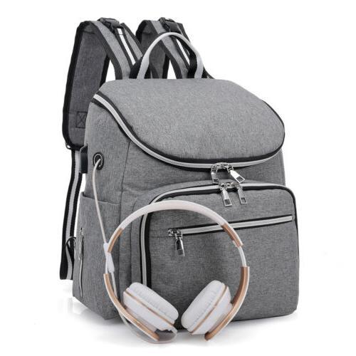 Large Baby USB Travel Backpack Makeup Bag
