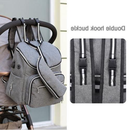 Large USB/Earphone Port Travel Backpack