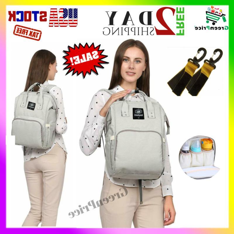 Baby Diaper Bag Pack Backpack Tote Girl Boy Men Waterproof L