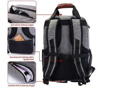 Large Baby Diaper Bag Mummy Laptop/Travel/Stroller Backpack