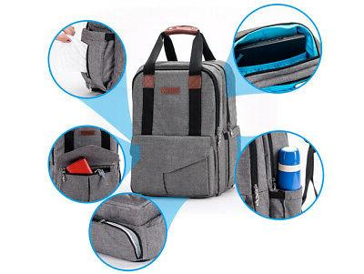 Large Waterproof Bag Mummy Laptop/Travel/Stroller Backpack