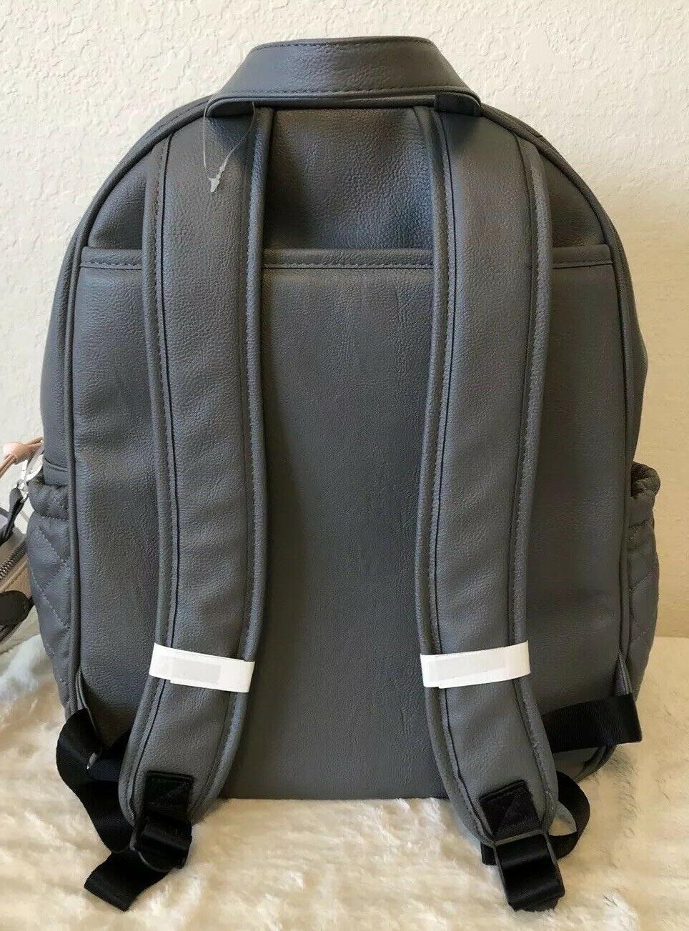 BETSEY GRAY 3PC DIAPER BAG