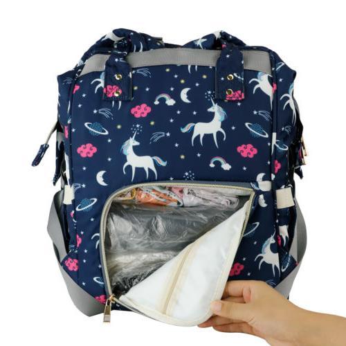 Diaper Bag Backpack Large Bookbag Boys Girl
